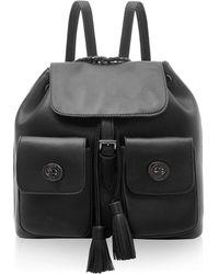 Marc B. - Black Double Pocket Backpack - Lyst