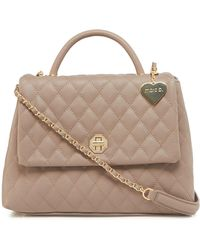 Marc B. - Taupe 'olivia' Quilted Grab Bag - Lyst