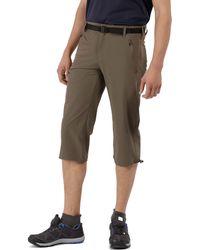 Regatta - Brown Xert Stretch Capri Trousers - Lyst