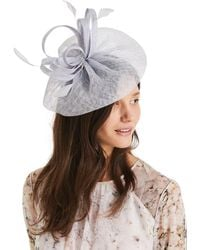 56de43618 John Lewis Calla Lily Flower Cloche Hat in Blue - Lyst