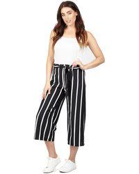 Izabel London - Multicoloured Striped Wide Leg Trousers - Lyst