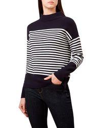 Hobbs - Near Black 'marina' Sweater - Lyst