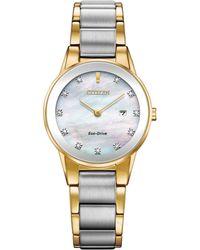 Citizen - Ladies Multi-coloured 'eco-drive' Bracelet Watch Ga1054-50d - Lyst