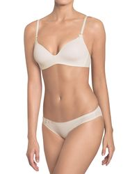 484305bf012 Triumph - Ivory  wow Comfort  Non-wired Padded T-shirt Bra -