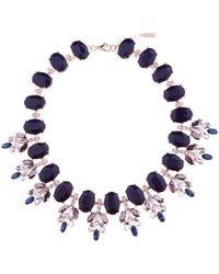 Hobbs - Navy 'katy' Necklace - Lyst