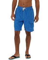 602e50eee4 Regatta Bratchmar Iii Swim Shorts in Blue for Men - Lyst