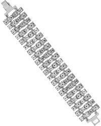 Lipsy - Crystal Statement Bracelet - Lyst