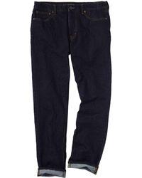 Lands' End - Blue Men's Stretch Denim Slim Fit Jeans - Lyst