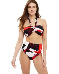 Phase Eight - Multi-coloured Lana Floral Print Bikini Top - Lyst