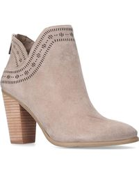 Vince Camuto - Fanita High Heel Ankle Boots - Lyst