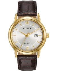 Citizen - Men's Eco-drive Strap Watch Aw1232-04a - Lyst