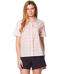 Craghoppers - Pink Natalie Short Sleeved Shirt - Lyst
