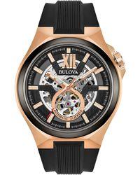 Bulova - Men's Automatic Strap Watch - Lyst
