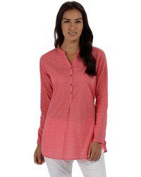 Regatta - Pink 'mackayla' Long Sleeved Shirt - Lyst
