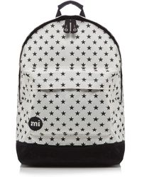 Mi-Pac - White 'all Star' Zipped Backpack - Lyst