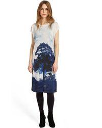 Phase Eight - Ink Carlotta Tree Print Dress - Lyst