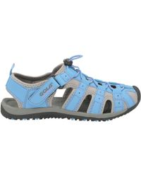 Gola - Blue And Grey 'shingle 3' Ladies Outdoor Sandals - Lyst