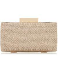 Roland Cartier - Brandee' Small Rectangle Glitter Clutch Bag - Lyst