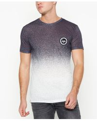 Hype - T-shirt In Black With Speckle Print - Lyst