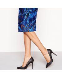 fc9cd59416c2 Faith - Black Glitter  chloe Sparkle  High Stiletto Heel Pointed Shoes -  Lyst