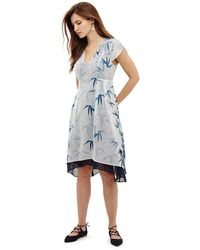 Phase Eight - Multicoloured Fay Palm Print Dress - Lyst