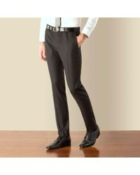 Red Herring - Charcoal Puppytooth Super Slim Fit Trouser - Lyst