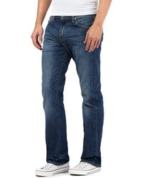 Levi's - Blue Mid Wash '527®' Bootcut Jeans - Lyst