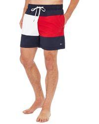 Tommy Hilfiger - Signature Medium Swim Shorts - Lyst