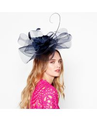 d07fe0123ab47 John Lewis Irene Down Brim Spot Feather Flower Occasion Hat in ...