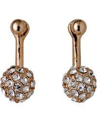 Pilgrim - Amalia Rose Gold Earrings - Lyst