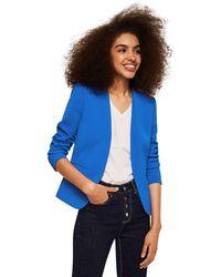Mango - Blue 'leli' Blazer - Lyst