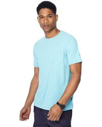 Racing Green - Big And Tall Turquoise Marl T-shirt - Lyst