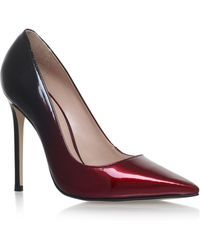 Carvela Kurt Geiger - Red 'alice' High Heel Court Shoes - Lyst