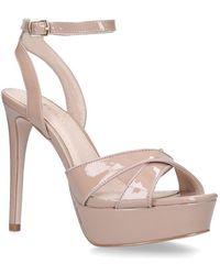 Miss Kg - Nude 'pam' High Heel Sandals - Lyst
