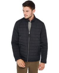 Racing Green - Black Quilted Jacket - Lyst