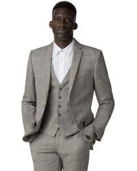 ff45777ffb94 ASOS Asos Wedding Super Skinny Suit Jacket In Champagne Floral for ...