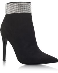Carvela Kurt Geiger - Black 'gentry' High Heel Ankle Boots - Lyst