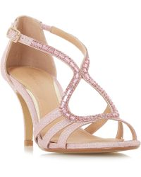 Roland Cartier - Pink 'mikayla' Ankle Strap Sandals - Lyst