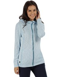 Regatta - Blue 'ramosa' Fleece Hoody - Lyst