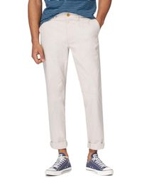 Racing Green - Natural Chino Trousers - Lyst