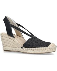 8803fabbd10e Anne Klein - Black  aneesa  Mid Heel Sandals - Lyst