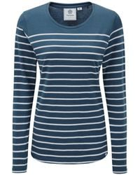 Tog 24 - Navy Hailey Long Sleeve T-shirt - Lyst