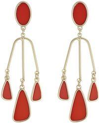 J By Jasper Conran - Designer Droplet Chandelier Earrings - Lyst