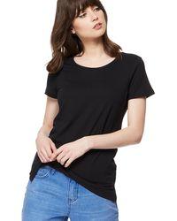 Red Herring - Black Crew Neck T-shirt - Lyst