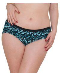 Curvy Kate - Floral Print 'reflex' Bikini Bottoms - Lyst