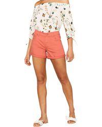 Oasis - Coral Denim Shorts - Lyst