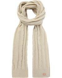 Regatta - Cream 'multimix' Knit Scarf - Lyst