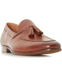 d07628efdd2 Dune Brown  paolo  Woven Tassel Loafer Shoes in Brown for Men - Lyst