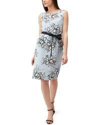 Precis Petite - Floral Clip Spot Dress - Lyst