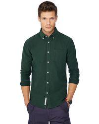 Racing Green - Dark Green Oxford Shirt - Lyst